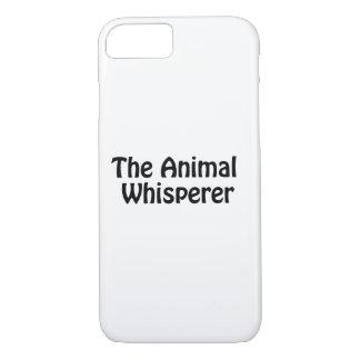 the animal whisperer iPhone 8/7 case