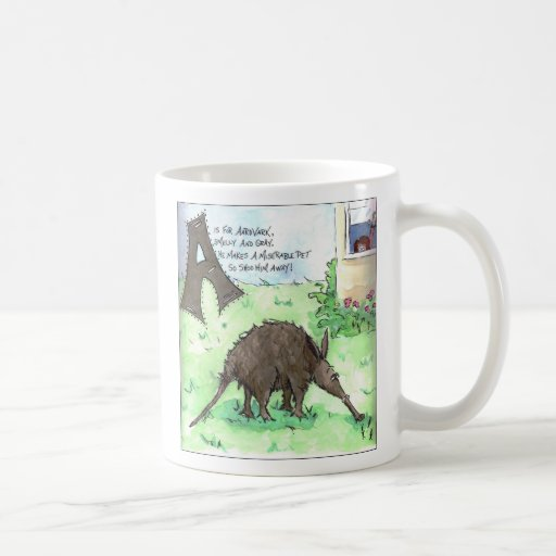 The Animals Are Scaring Me Coffee Mug