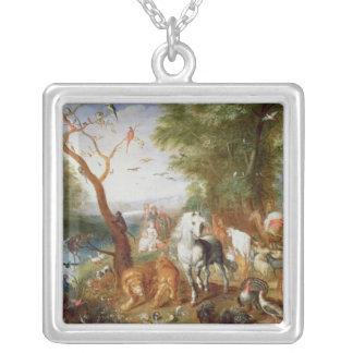 The Animals entering Noah's Ark Custom Necklace