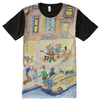 The Animals Night On The Town All-Over-Print Shirt