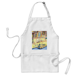 The Animals Night Out On The Town Adult Apron