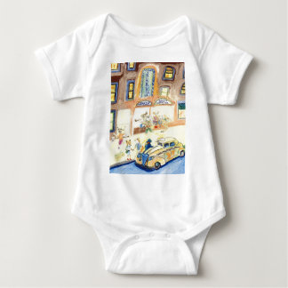 The Animals Night Out On The Town Baby Bodysuit
