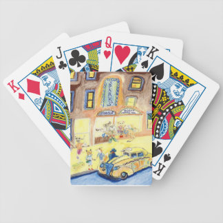 The Animals Night Out On The Town Bicycle Playing Cards