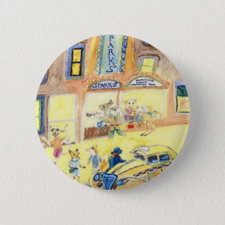 The Animals Night Out On The Town Button