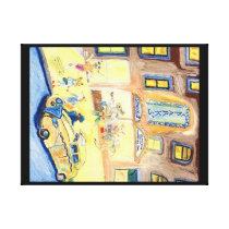 The Animals Night Out On The Town Canvas Print
