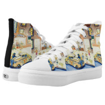 The Animals Night Out On The Town High-Top Sneakers