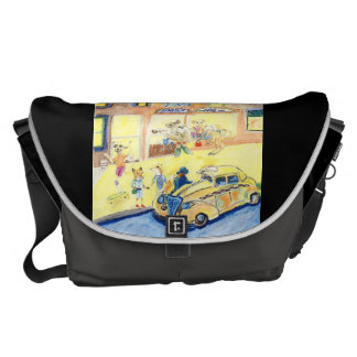 The Animals Night Out On The Town Messenger Bag