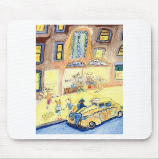 The Animals Night Out On The Town Mouse Pad