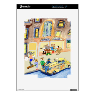 The Animals Night Out Decals For iPad 2