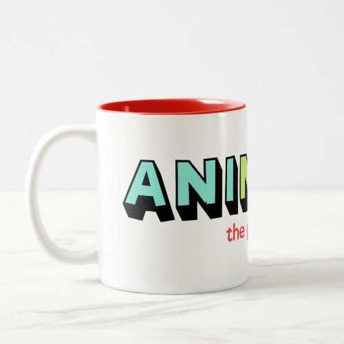 The AniMug Two-Tone Coffee Mug