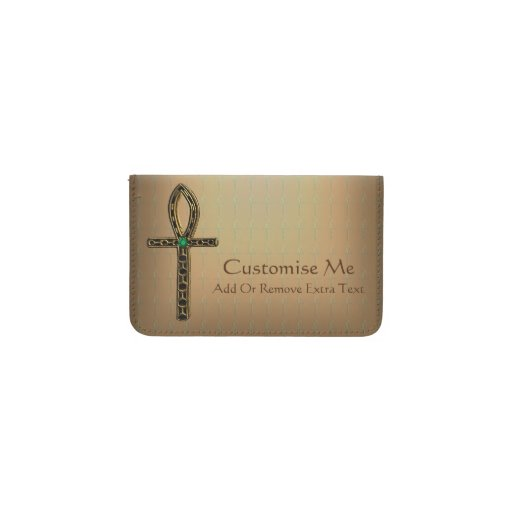 The Ankh Gold Business Card Holder