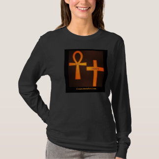 THE ANKH IS LIFE - THE CROSS IS DEATH T-Shirt