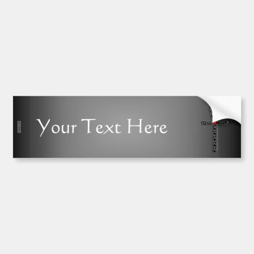 The Ankh (Silver) Bumper Stickers