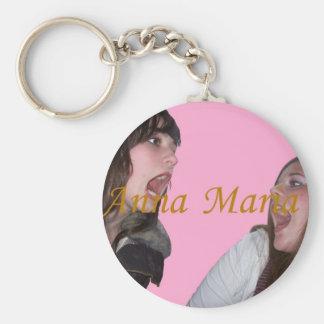 The Anna Maria Show Keychain