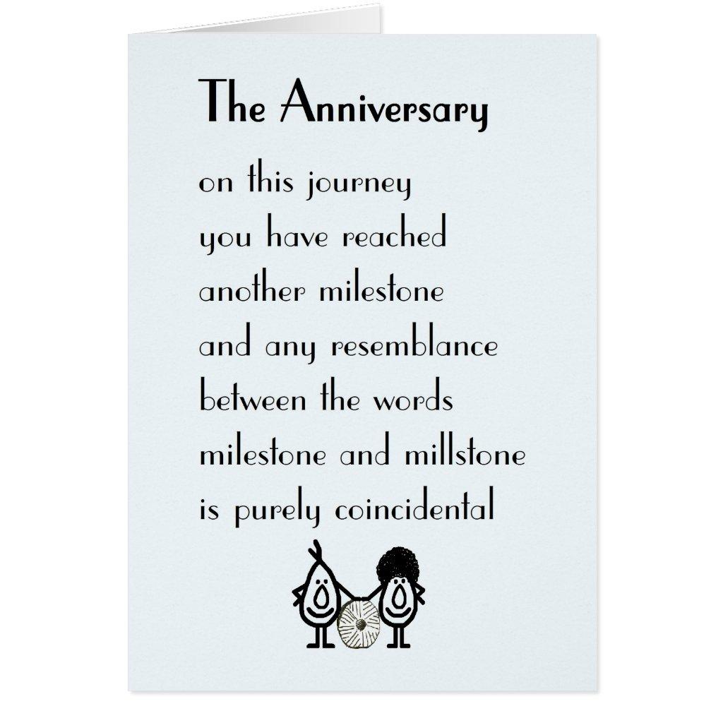 Funny Anniversary Poems 2016
