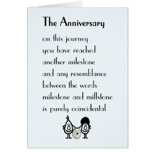 Funny Wedding Anniversary Cards - Greeting & Photo Cards | Zazzle