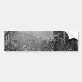 The Announcing of the Armistice 11.11.1918 Car Bumper Sticker