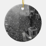 The Announcing of the Armistice 11.11.1918 Christmas Tree Ornaments