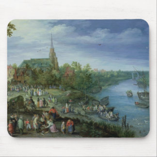 The Annual Parish Fair in Schelle, 1614 Mouse Pad
