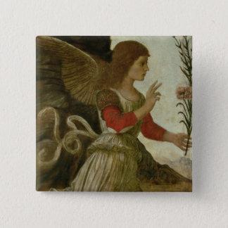 The Annunciating Angel Gabriel Button