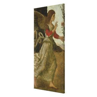 The Annunciating Angel Gabriel Canvas Print