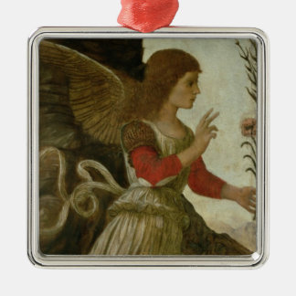 The Annunciating Angel Gabriel Metal Ornament