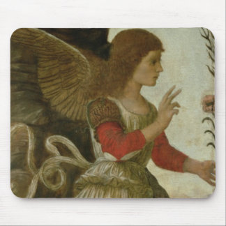 The Annunciating Angel Gabriel Mouse Pad