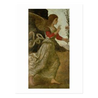 The Annunciating Angel Gabriel Postcard