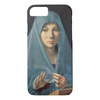 The Annunciation, 1474-75 (oil on panel) iPhone 8/7 Case