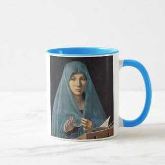 The Annunciation, 1474-75 (oil on panel) Mug