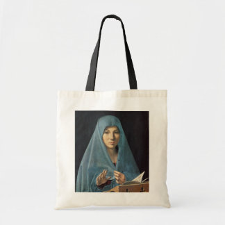 The Annunciation, 1474-75 (oil on panel) Tote Bag