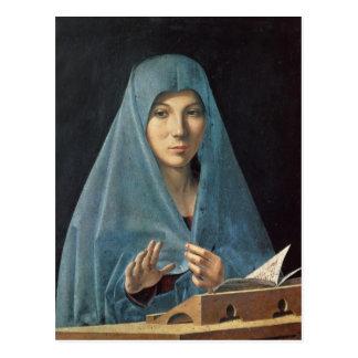 The Annunciation, 1474-75 Postcard