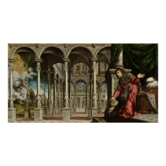 The Annunciation, 1545-50 Poster
