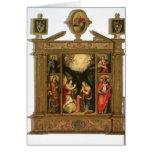 The Annunciation, 1581 Card