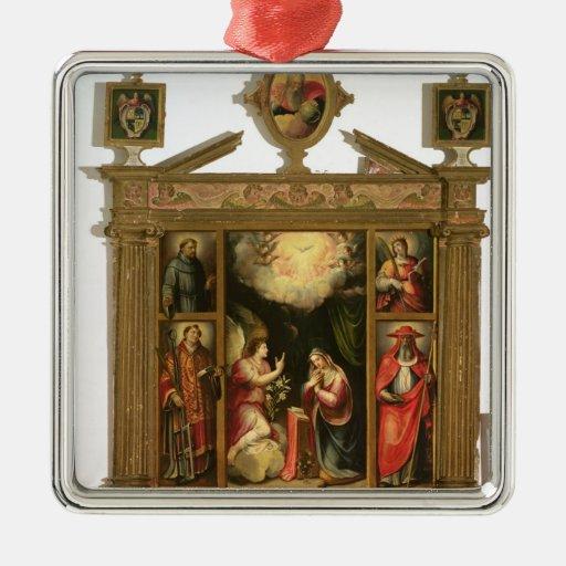 The Annunciation, 1581 Christmas Ornament