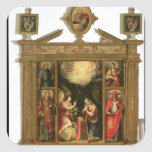 The Annunciation, 1581 Square Stickers