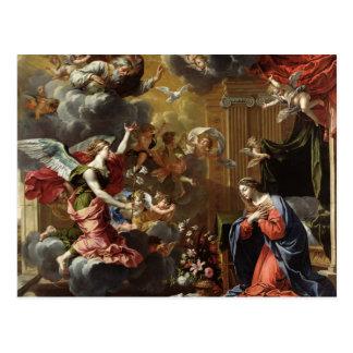 The Annunciation, 1651-52 Postcard