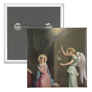 The Annunciation, 1859 Pinback Button