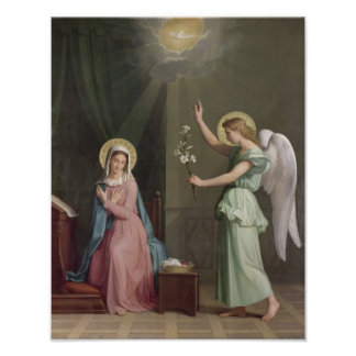 The Annunciation, 1859 Poster