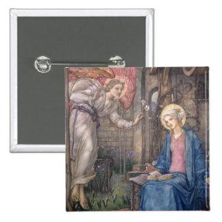 The Annunciation 2 Button
