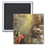 The Annunciation 2 Inch Square Magnet