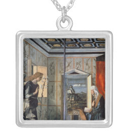 The Annunciation 2 Silver Plated Necklace