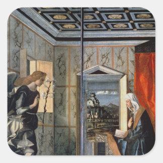 The Annunciation 2 Square Sticker