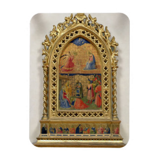 The Annunciation and the Adoration of the Magi (te Magnet