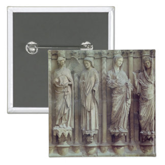 The Annunciation and the Visitation 2 Inch Square Button