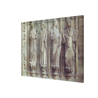 The Annunciation and the Visitation Canvas Print