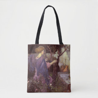 The Annunciation Angel Classical Painting Tote Bag