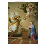 The Annunciation, before 1652 Greeting Card