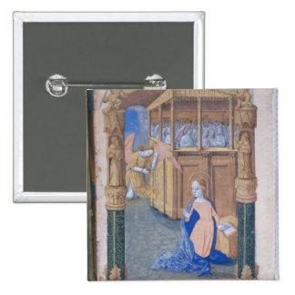 The Annunciation 2 Inch Square Button