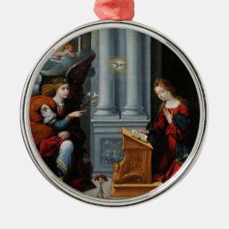 The Annunciation by Benvenuto Tisi Christmas Ornament
